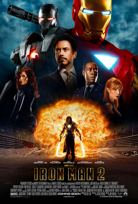 International Iron Man 2 Poster