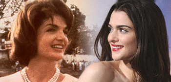 Rachel Weisz as Jackie Kennedy