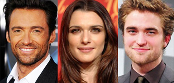 Hugh Jackman, Rachel Weisz, Robert Pattinson