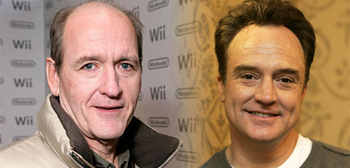 Richard Jenkins and Bradley Whitford