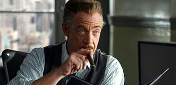 J.K. Simmons as J. Jonah Jameson