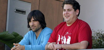 Jason Schwartzman and Jonah Hill