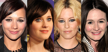 Rashida Jones, Zooey Deschanel, Elizabeth Banks, Emily Mortimer