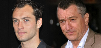 Jude Law and Robert De Niro