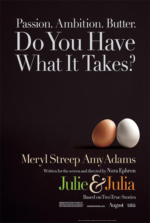 Julie & Julia Teaser Poster