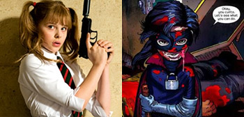 Our First Look at Hit Girl in Kick-Ass