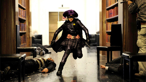 Hit Girl in Kick-Ass