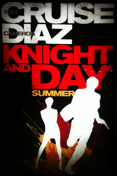 Knight & Day Poster