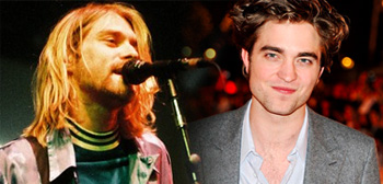 Robert Pattinson Kurt Cobain on Robert Pattinson   Kurt Cobain