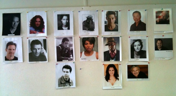 Larry Crowne Casting Wall