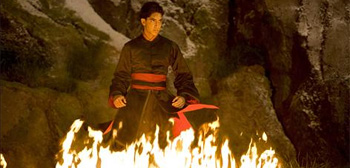 Dev Patel in M. Night Shyamalan's The Last Airbender