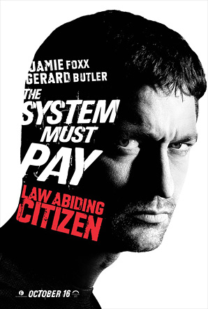Law Abiding Citizen - Gerard Butler Poster