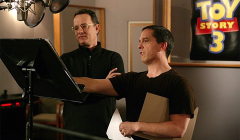 Lee Unkrich and Tom Hanks - Toy Story 3