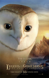 Legend of the Guardians Character Poster