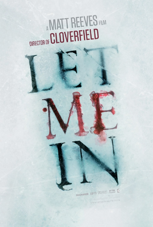 Let Me In Official Poster