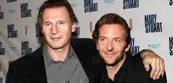 Liam Neeson and Bradley Cooper