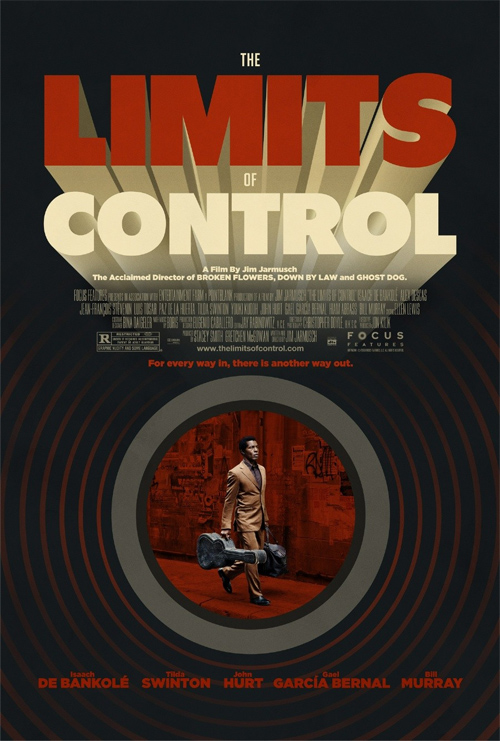 The Limits of Control Retro Poster