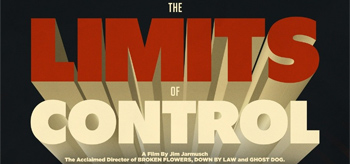 Jim Jarmusch's The Limits of Control Retro Poster