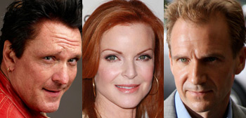 Michael Madsen, Marcia Cross, Ralph Fiennes