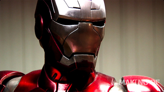 Legacy Effects' Iron Man 2 Armor