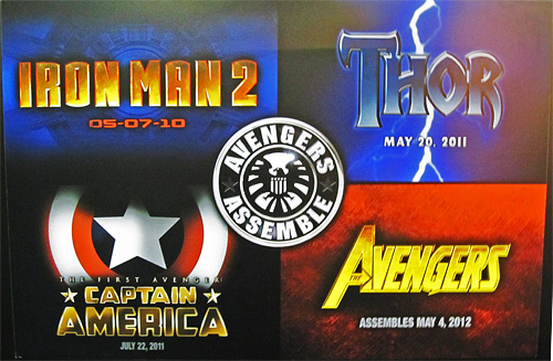Marvel Movie Logos - Licensing International Expo