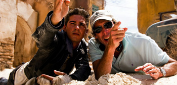 Shia LaBeouf and Michael Bay