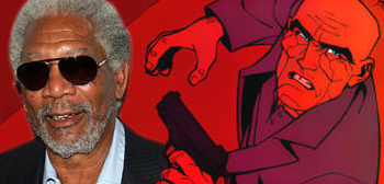 Morgan Freeman - Red