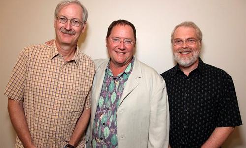 John Musker, John Lasseter, Ron Clements