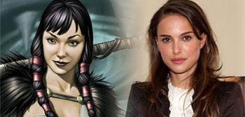 Sif and Natalie Portman