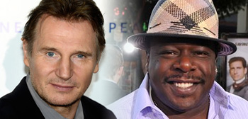 Liam Neeson & Cedric the Entertainer