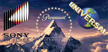 Sony Pictures - Paramount Pictures - Universal Pictures
