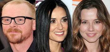 Simon Pegg, Demi Moore, Linda Cardellini
