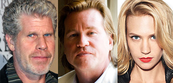Ron Perlman, Val Kilmer, January Jones