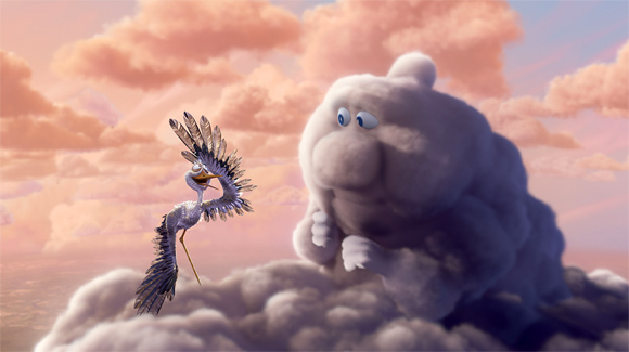 Pixar's Partly Cloudy Photo