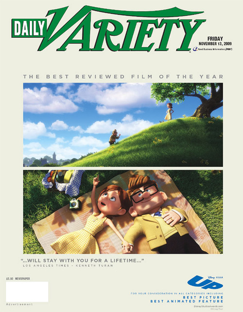 Pixar's Up - For Your Consideration