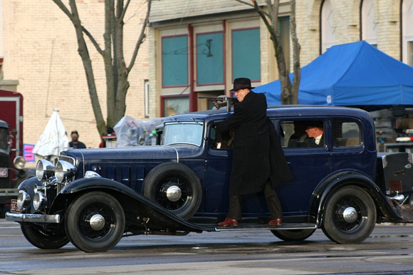 Public Enemies Behind-the-Scenes Photos