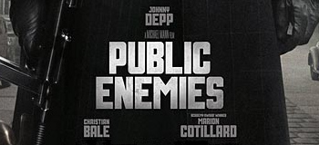 Check This Out: First Official Public Enemies Poster