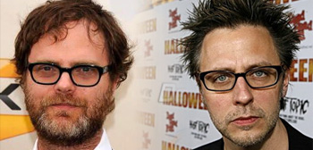 Rainn Wilson and James Gunn