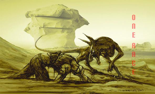 Riddick Concept Art