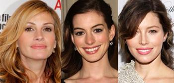 Julia Roberts, Anne Hathaway, Jessica Biel
