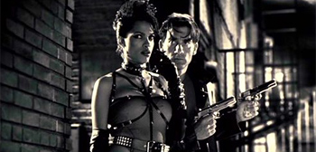 Rosario Dawson in Sin City