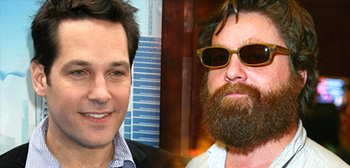 Zach Galifianakis & Paul Rudd