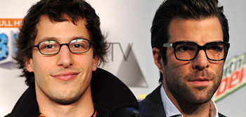 Andy Samberg and Zachary Quinto