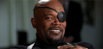 Samuel Jackson as Nick Fury