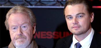 Ridley Scott & Leonardo DiCaprio