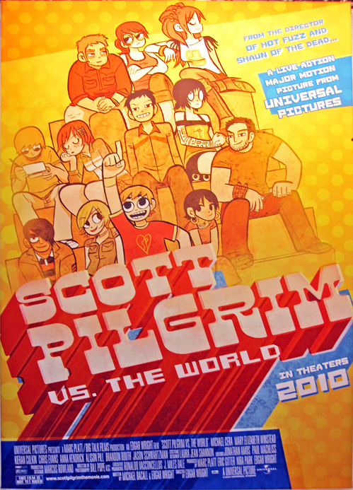 Scott Pilgrim Poster - Licensing International Expo