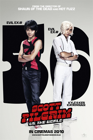 Scott Pilgrim Poster - Kyle & Ken Katayanagi
