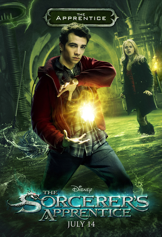 The Apprentice Poster - Disney's The Sorcerer's Apprentice
