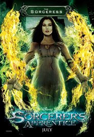 The Sorceress - The Sorcerer's Apprentice Poster