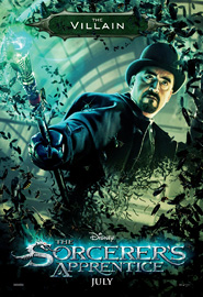 The Villain - The Sorcerer's Apprentice Poster